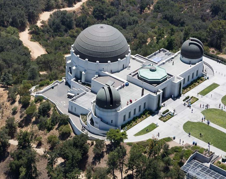 If you find yourself in Los Angeles you have to visit the iconic Griffith Observatory.